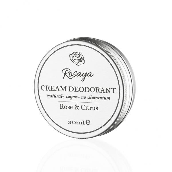 """Looduslik kreemdeodorant """"Rose ja Citrus"""""""